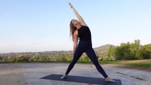 10 Minute Heart Opening Yoga Flow