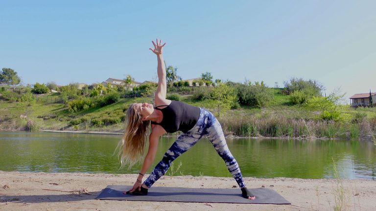 Morning Yoga with Sun Salutations and Hip Openers – 18 Minute Yoga Video
