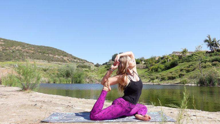 Mermaid Yoga, Learn Mermaid Yoga Pose